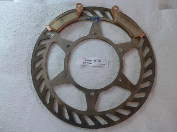 Gas Gas EC 450 FSE Bremsscheibe vorn mit Belägen