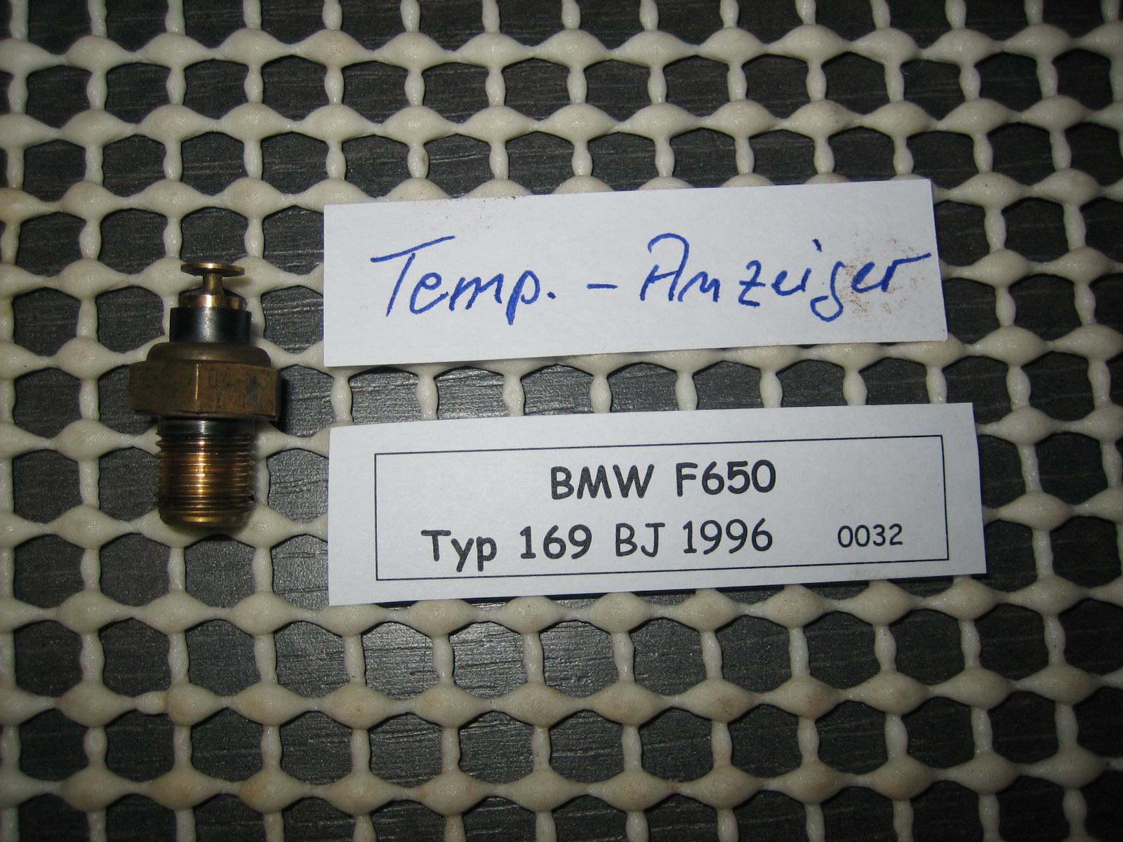 Tempe Honda Service >> BMW F 650 TYP 169 Temperaturanzeige | MotorradTeile Berndorf