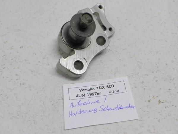 Yamaha TRX 850 4UN Aufnahme Seitenständer