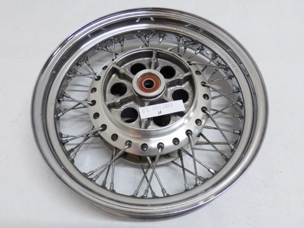 Kawasaki EL 250 252 Hinterradfelge Speichen J15x3.00