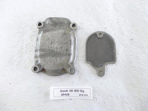 Suzuki DR 800 Big SR42 Ölsieb