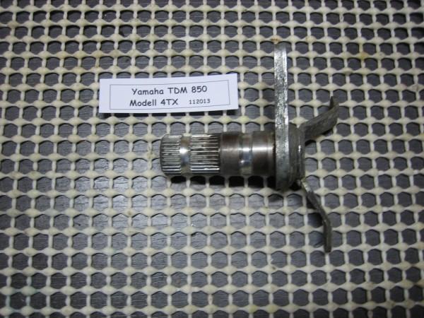 Yamaha TDM 850 4TX Halterung / Aufnahme Fußbremshebel