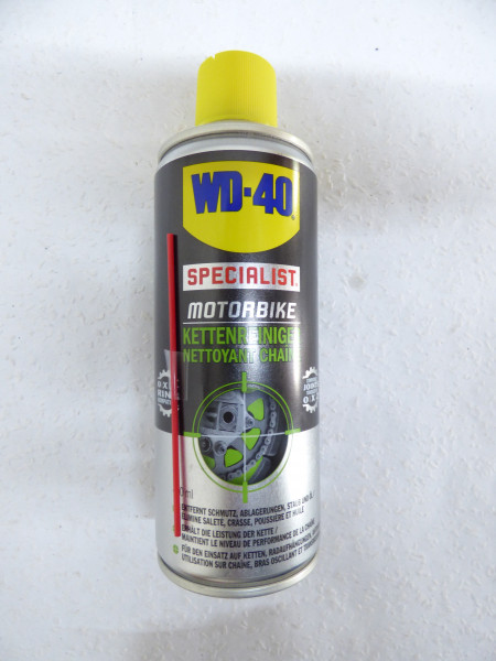 wd40 specialist motorbike kettenreiniger 400ml. Black Bedroom Furniture Sets. Home Design Ideas