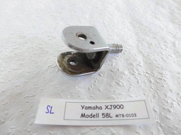 Yamaha XJ 900 58L Sozius Rastenaufnahme links