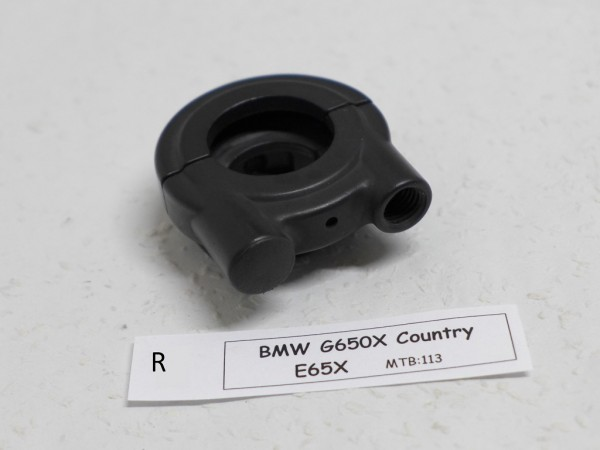 BMW G650 Xcountry E65X Führung Gaszug