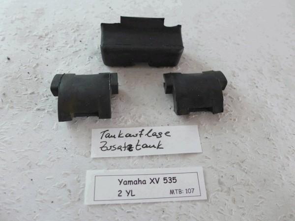 Yamaha XV 535 Virago Tankauflagegummis Zusatztank