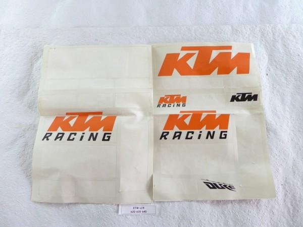 KTM LC4 620 625 640 Aufkleber