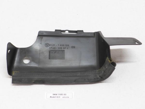 BMW F650GS R13 Batterieabdeckung