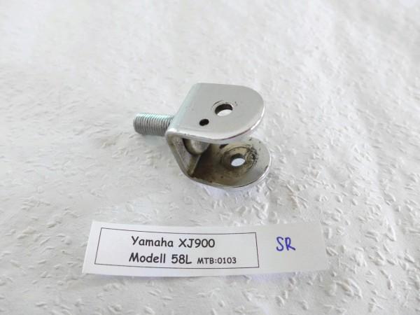 Yamaha XJ 900 58L Sozius Rastenaufnahme rechts