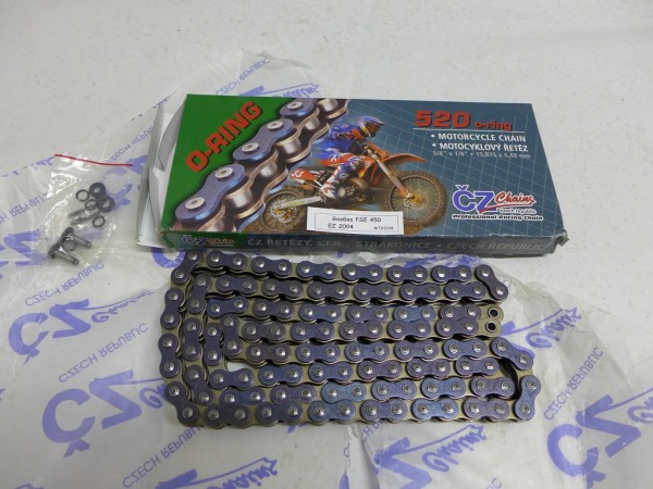 Gas Gas EC 450 FSE Kette Chain 520er neuwertig